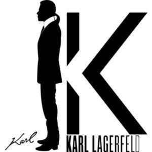Karl Lagerfeld Paris Metallic Leather Loafer